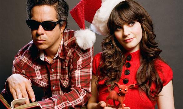 christmas she and him