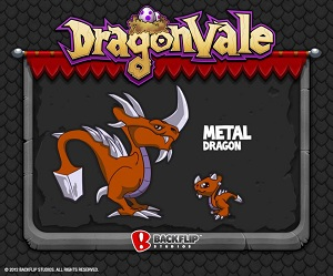 Nuevo dragon de metal para dragon vale