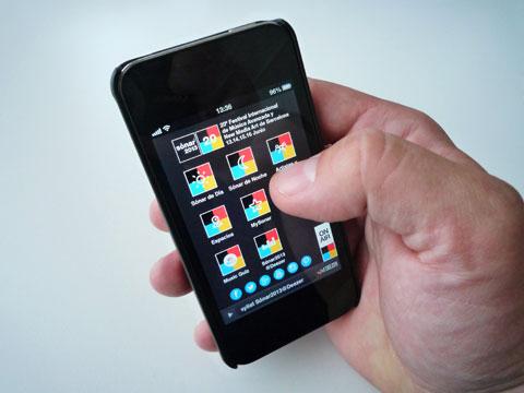 Sónar 2013 app