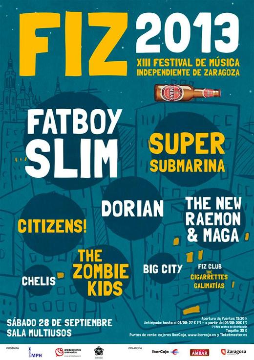 FIZ Festival 2013 cartel