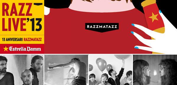 13 aniversario Razzmatazz