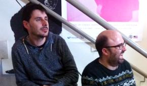 Xavi y Josep Maria Organizadores L'Americana film festival Barcelona