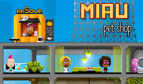 Pixel Mogul game