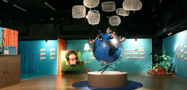 Exposición de Mafalda Madrid 2015