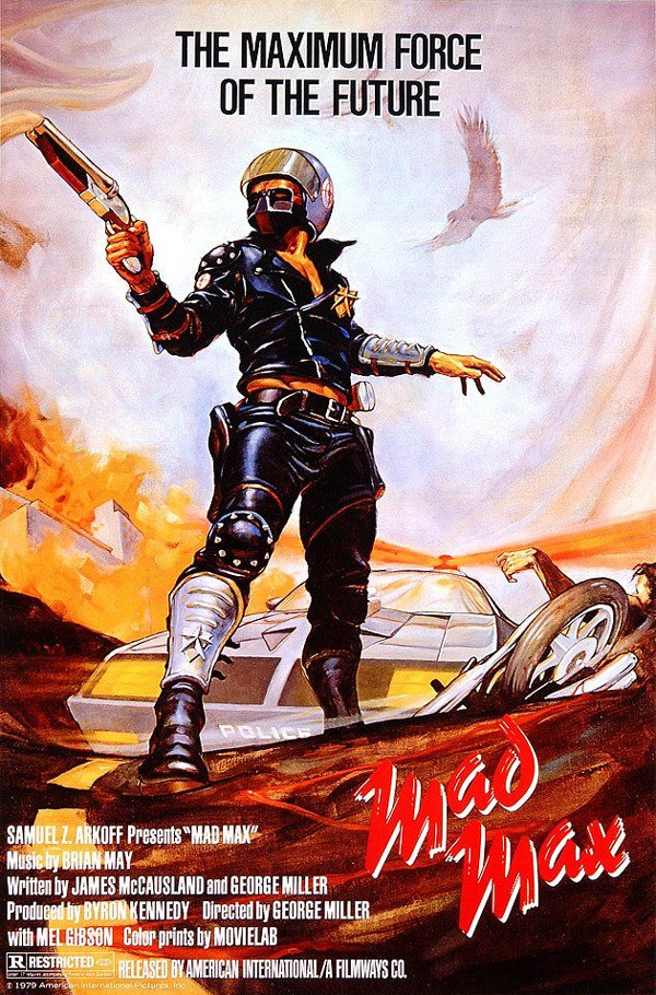 Mad Max 1 póster