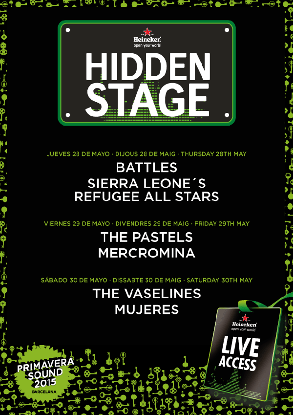 Primavera Sound Hidden Stage 2015