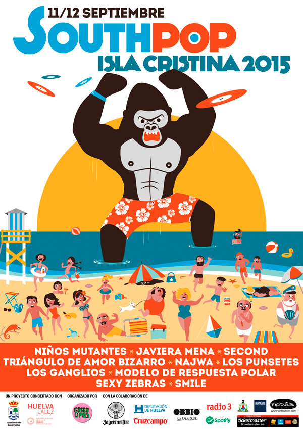 South Pop Isla Cristina 2015