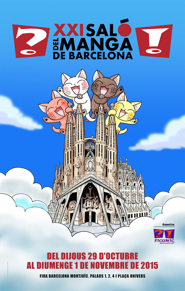 Salon Manga Barcelona 2015