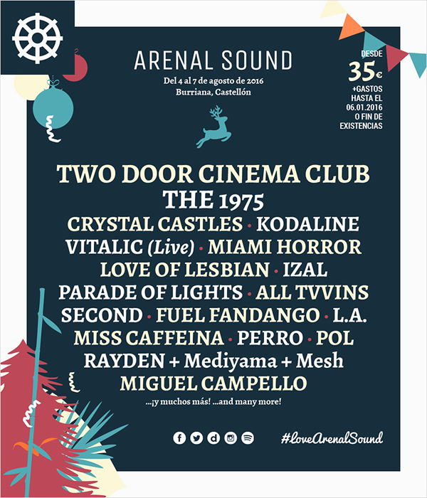Arenal Sound 2016