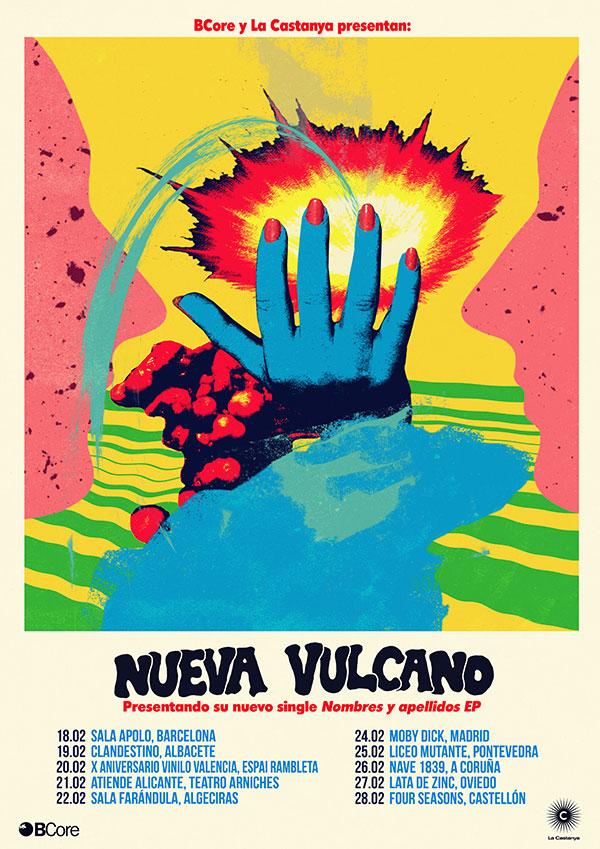 Nueva Vulcano tour 2016