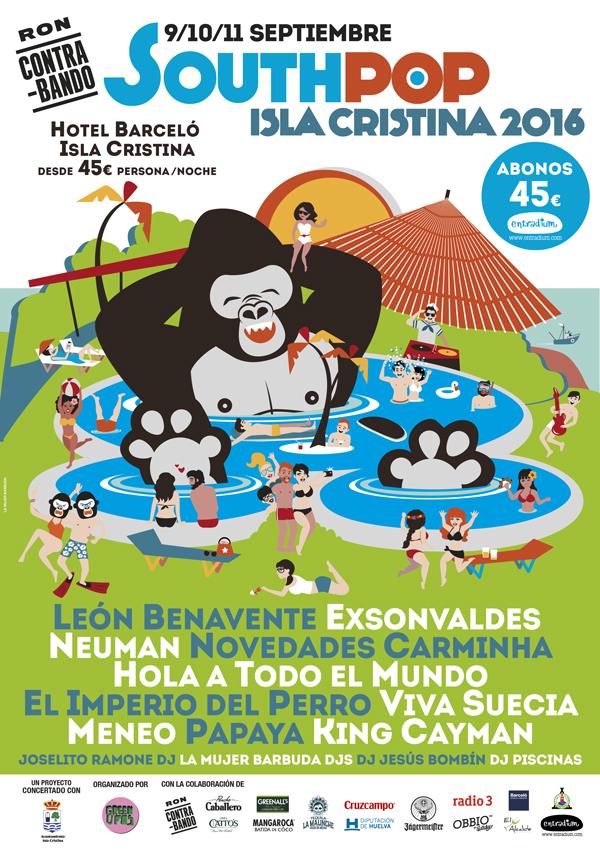 South Pop Isla Cristina 2016