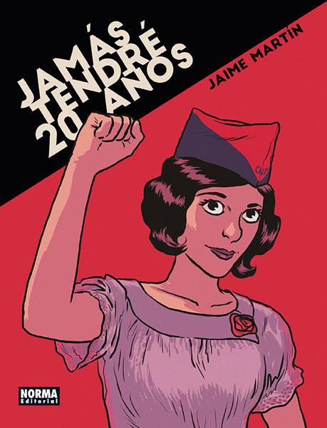 """""""Jamás tendré 20 años"""" de Jaime Martín"""