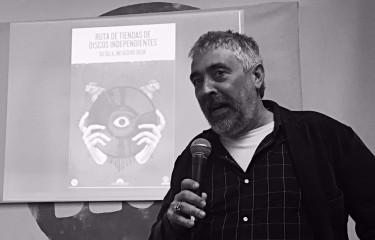 Coco, co-director de 66 RPM Edicions.