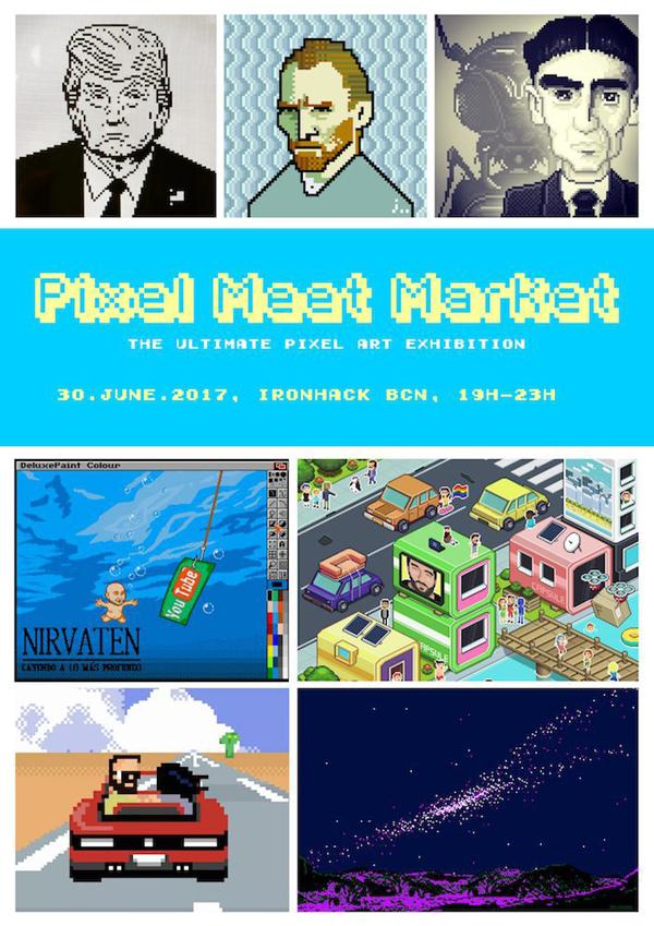 Pixel Meet Market - Barcelona