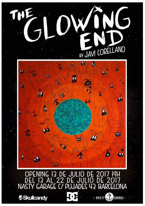 The Glowing End - Javi Corellano