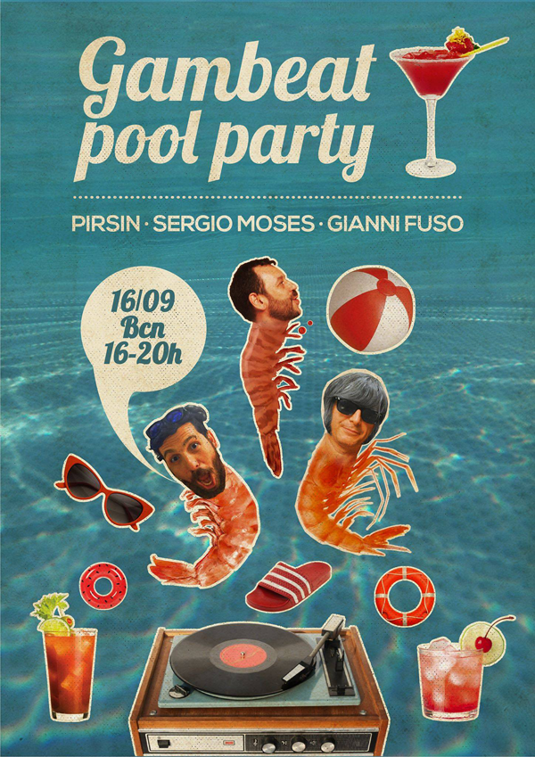 Gambeat Pool Party