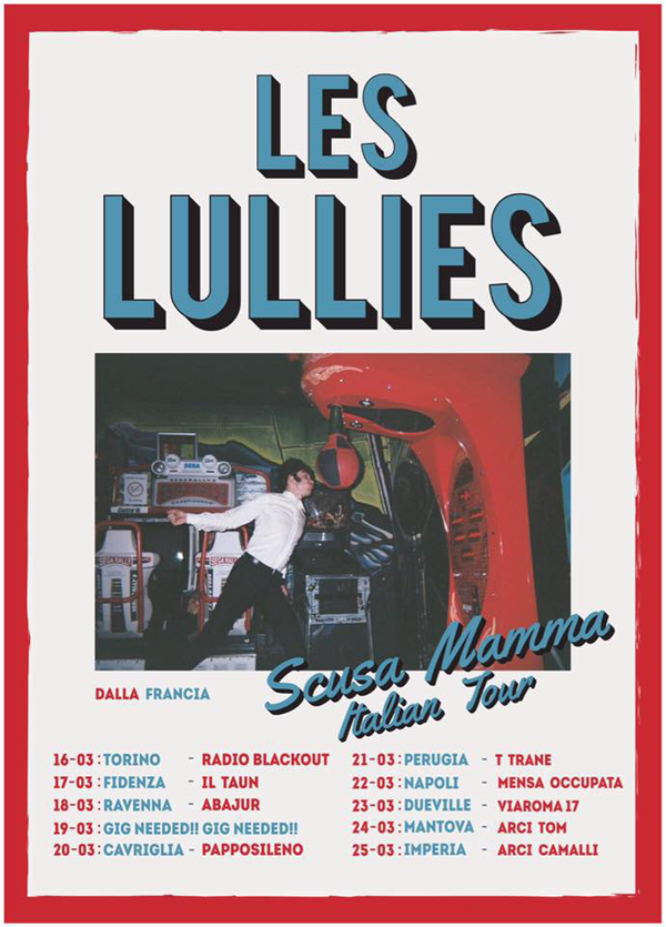 Les Lullies tour Italy