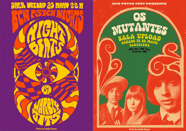 Night Beats - Os Mutantes