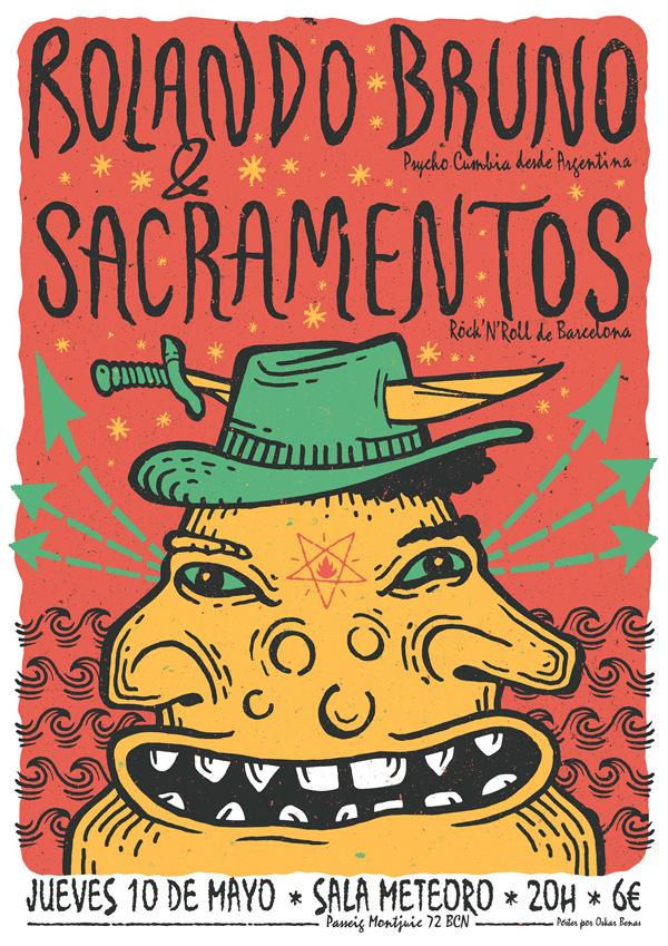 Rolando Bruno + Sacramentos