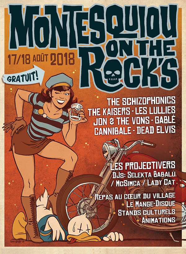 Montesquiou On The Rock's 2018