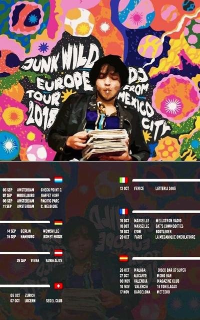 Junk Wild Europe Tour 2018