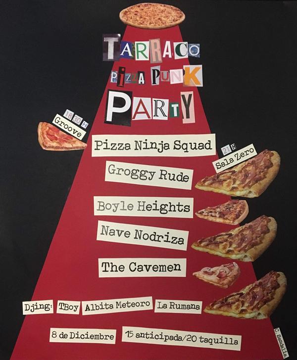 Tarraco Pizza Punk Party