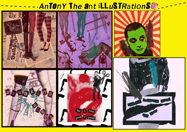 Antony The Ant Illustrations